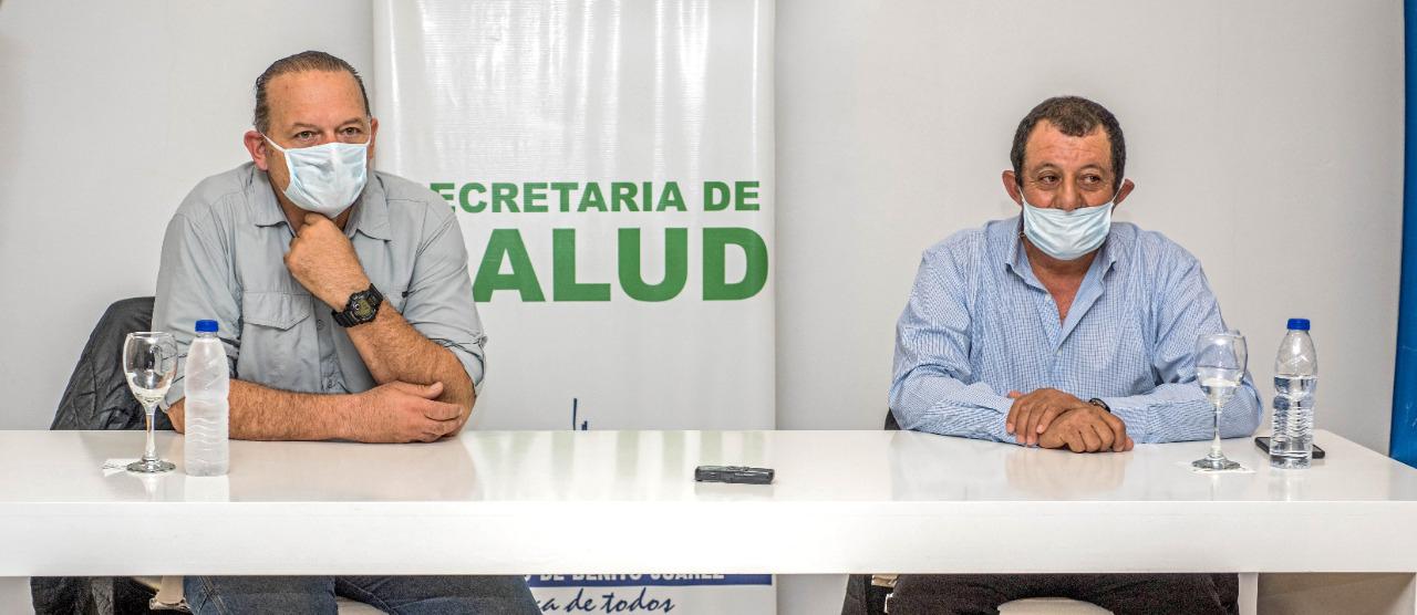 Visita del Ministro de Seguridad de la provincia de Buenos Aires Sergio Berni