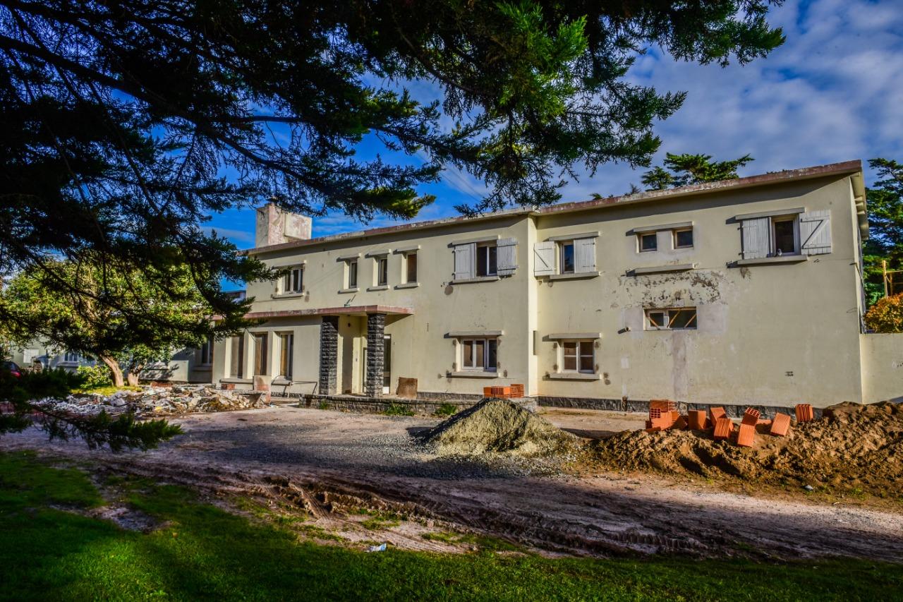 Recorriendo Obras en Villa Cacique-Barker
